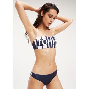 Dámské plavky Tommy Hilfiger UW0UW01785+UW0UW01786 S Tm. modrá