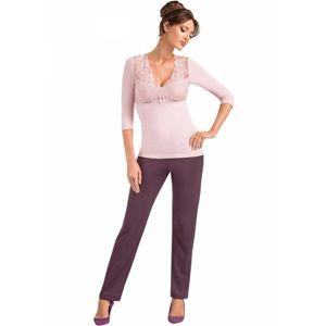 Dámské pyžamo Donna Simone XL Smetanová