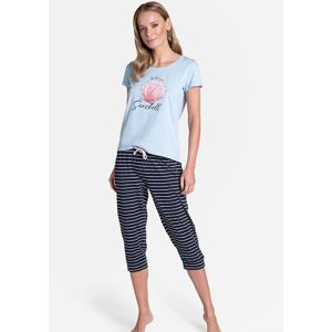 Dámské pyžamo Henderson 38897 L Sv. modrá