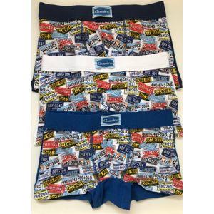 Dětské boxerky EMY U/3140F 4 Mix