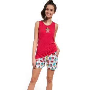 Dívčí pyžamo Cornette 292/26 170 Červená