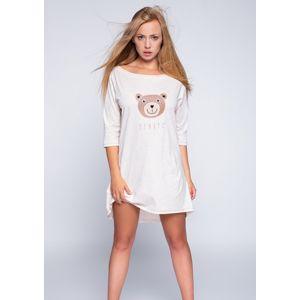 Noční košilka Sensis Bear S/M Béžová