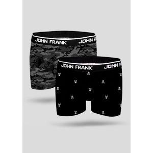 Pánské boxerky John Frank JF2BMC07 2PACK XL Dle obrázku
