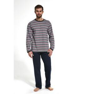 Pánské pyžamo Cornette 138/16 M Tm. modrá