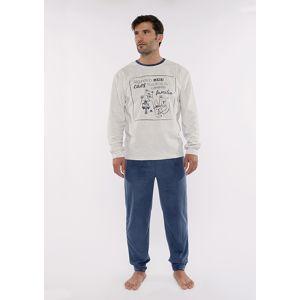 Pánské pyžamo Muydemi 310211 L Modrá
