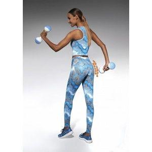 Sportovní legíny Energy - Bas Bleu XL Modrá